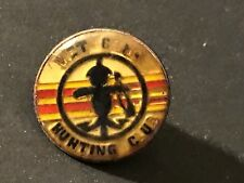 "Original Vintage Vietnam ""VIET CONG HUNTING CLUB"" Lapel Hat Uniform Pin Military"