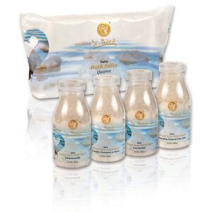 Dr. Nona Dead Sea Minerals Halo Bath Salts Quartet Organic Spa Revitalize Body