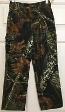 Browning youth size M brown black green camouflage cargo hunting pants
