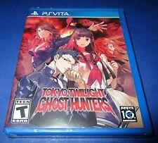 Tokyo Twilight Ghost Hunters Sony PlayStation Vita *Factory Sealed! *Free Ship!