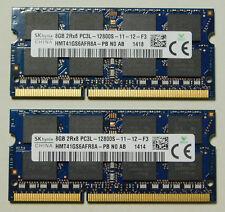 16 GB 2 x 8GB SO-Dimm SK Hynix HMT41GS6AFR8A-PB PC3L DDR3L 1,35V RAM * Händler *