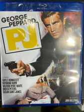 P. J (George Peppard) SPECIAL EDITION REGION A with Slipcover