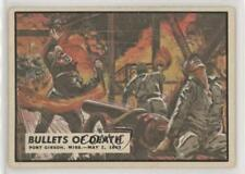 1962 Topps Civil War News #40 Bullets of Death Non-Sports Card 0s4