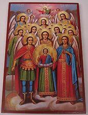 Versammlung der Erzengel ENGEL Ikone Icon Angel Ikona Ikonen Icoon Ikona икона