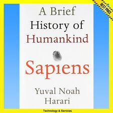 ✅ Sapiens. A Brief History of Humankind by Yuval Harari ✅ E-BOOK