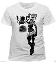 Harley Quinn Asylum T Shirt OFFICIAL Batman Birds Of Prey NEW Small