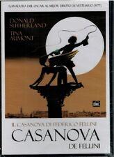 Casanova de Fellini DVD