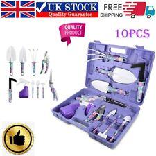 More details for 5/10pcs gardening hand tool shovel kit aluminum garden tools set gifts for lady