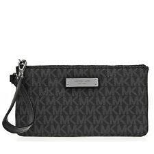 Michael Kors Medium Jet Set Wristlet MK32S7SJSW2B-001 - Black