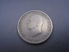 1954 GREECE 5 APAXMAI DRACHMAI COIN  #L6
