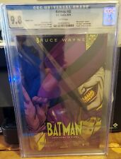 BATMAN #40 CGC 9.8 MOVIE POSTER VARIANT. THE MASK COVER HOMAGE. DEATH OF BATMAN