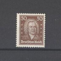 Dt. Reich Mi.Nr. 396, 50 Pfg. Berühmte Deutsche 1926 **, geprüft BPP (24804)