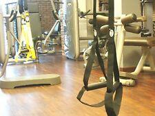 MaxGym® Trainer. Suspension straps training. Body trainer. MMA Trainer black