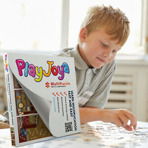 MultiPuzzle - 300 pcs Jigsaw Puzzle -  Learn Multiplication and Have Fun!