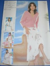 Cleckheaton Knit ptn bk 923 - LADYS 8 ply Spring/Summer TOPS, CARDIGANS, JUMPERS