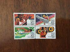 US C105-108, 1984 Olympics 40c Air Mail block of 4 MNH