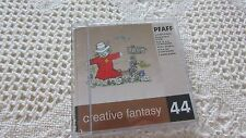 Pfaff Emb Card Creative Fantasy #44 COUNTRY LIFE 7570 7560 2140 2170 EXCELLENT