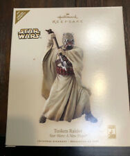 Star Wars a Hope Tusken Raider 2007 Hallmark Ornament 30th Anniversary Le