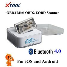 XTOOL iOBD2 Mini OBD2 EOBD Auto Scanner With Bluetooth 4.0 for iOS and Android