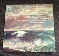 Johannes Brahms / Richard Wagner - Christa Ludwi Vinyl Schallplatte - 102982