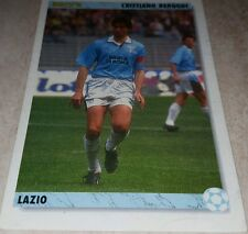 CARD JOKER 1994 LAZIO BERGODI CALCIO FOOTBALL SOCCER ALBUM
