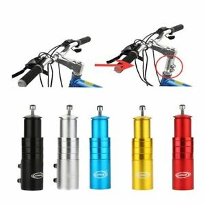123mm Bike Handlebar Fork Black Bicycle Adaptor Durable Mtb Mountain Cycling UK