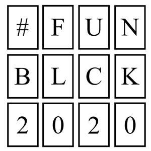 Black Initials Prints Letter Number Ampersand Wall Art Bedroom Poster - Unframed