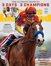 Justify Triple Crown winner Sports Illustrated Cover photo -select size