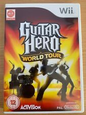 WII game GUITAR HERO WORLD TOUR Good Condition