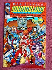 1992 Youngblood #1 Cards Intact NM+ 1st Pr.