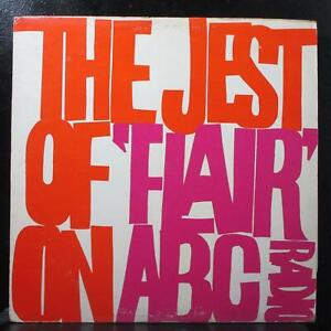 "Various - The Jest of ""Flair"" on ABC Radio Mint- Mono 1st LP Vinyl Record USA"