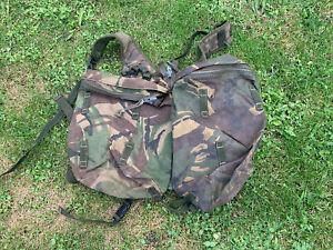 Good Used British Army DPM PLCE Bergen Day Sack Rocket Pouch Side Pockets & Yoke
