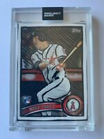 Topps PROJECT 2020 Card 207 - Mike Trout LA ANGELS by Joshua Vides - In hand!