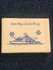 Cape May Lewes Ferry Playing Cards-52 x 2 Jokers