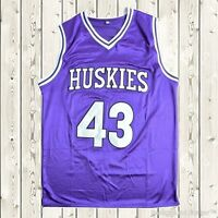 Kenny Tyler #43 Huskies Basketball Stitched Throwback Jersey The 6th Man Movie
