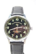 Russian mechanical watch RAKETA Shturmanskie Gagarin Black Dial. 36mm Case 1