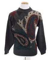 Vtg Sears Roebuck & Co. Mens Italian Wool Acrylic Sweater Cosby Italy Sz Large