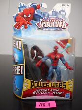 NEW! MARVEL ULTIMATE SPIDER-MAN POWER WEBS ROCKET RAMP SPIDERMAN 2012 A1528 A811