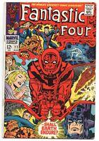 Fantastic Four 77 Marvel 1968 FN Silver Surfer Galactus Psycho-Man Jack Kirby