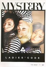 """LADIES' CODE - MYST3RY Official Poster Unfolded Packing 24.5 x 17.3"""""""