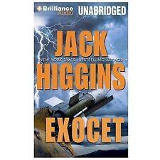 Jack Higgins EXOCET Unabridged CD *NEW* FAST 1st Class Ship!