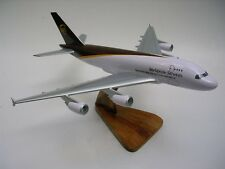 A-380 UPS Freight Airbus A380 Airplane Dried Wood Model Regular