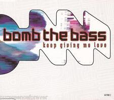 BOMB THE BASS - Keep Giving Me Love (UK 4 Tk CD Single)