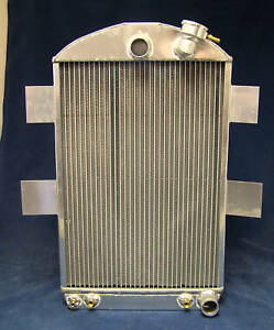 1935-1936 chevy  chevrolet aluminum radiator will cool 600hp made in USA !!