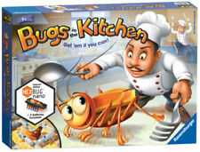 Ravensburger Bugs in The Kitchen Game Board With 24 Movable 2 to 4 Players