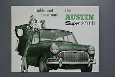 Vintage Brochure: Austin Mini Super Seven 850 Mk1 No.2050