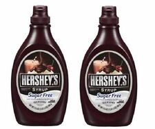 Hershey's Chocolate Syrup Low Calorie Sugar Free 2 Bottle Pack