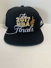 2017 Cleveland Cavs Cavaliers NBA Finals Snapback Adidas Cap / Hat Locker Room