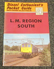 Old Diesel & Electrics Train Pocket Guide Booklet - #4 L. M. Region South