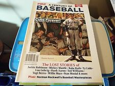 The Saturday Evening Post Special Collector's Edition A CENTURY OF BASEBALL